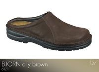 Bjorn Oily Brown