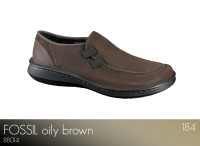Fossil Oily Brown