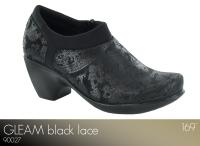 Gleam Black Lace