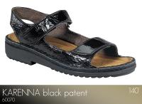 Karenna Black Patent