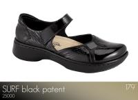 Surf Black Patent