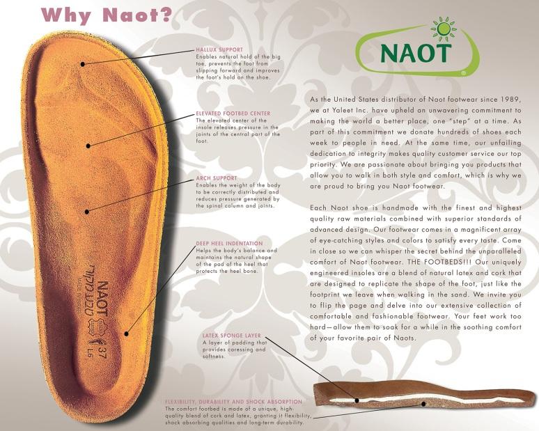 Naot footbead image